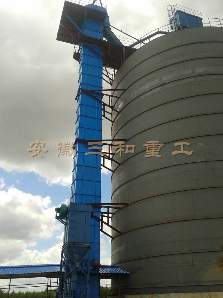 NE series board chain bucket elevator